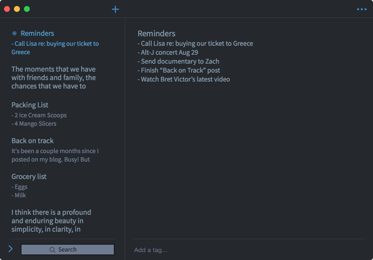 Dark Theme for Mac